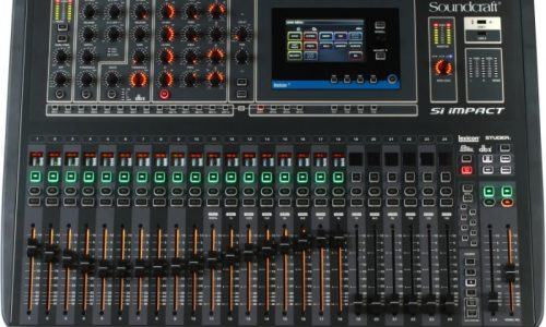 Mixers & Console Rental