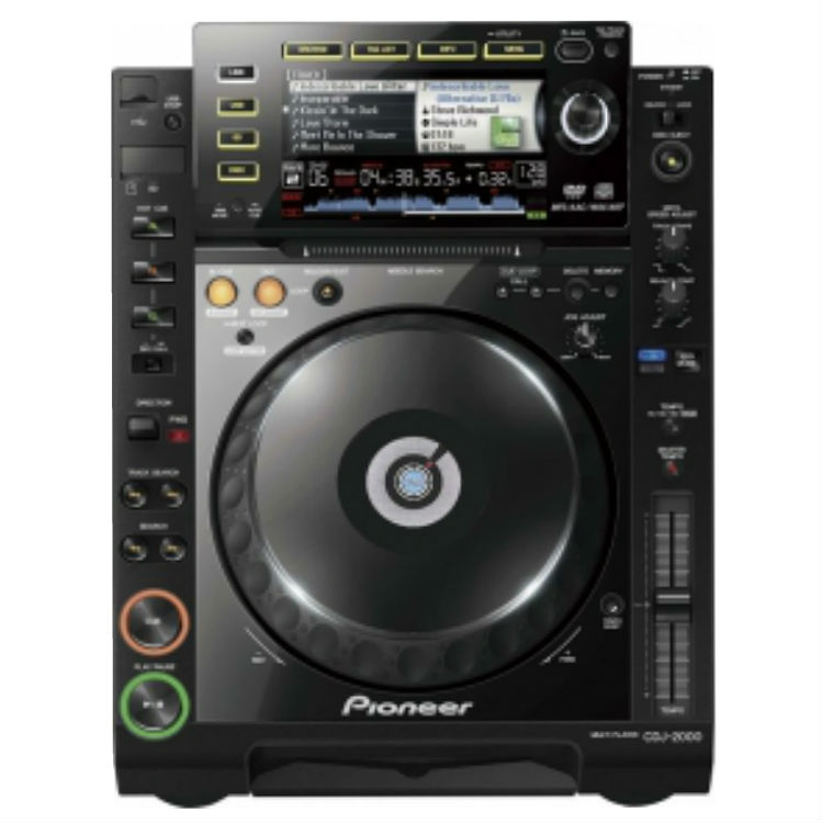 Rent Pioneer CDJ 2000 in Miami florida