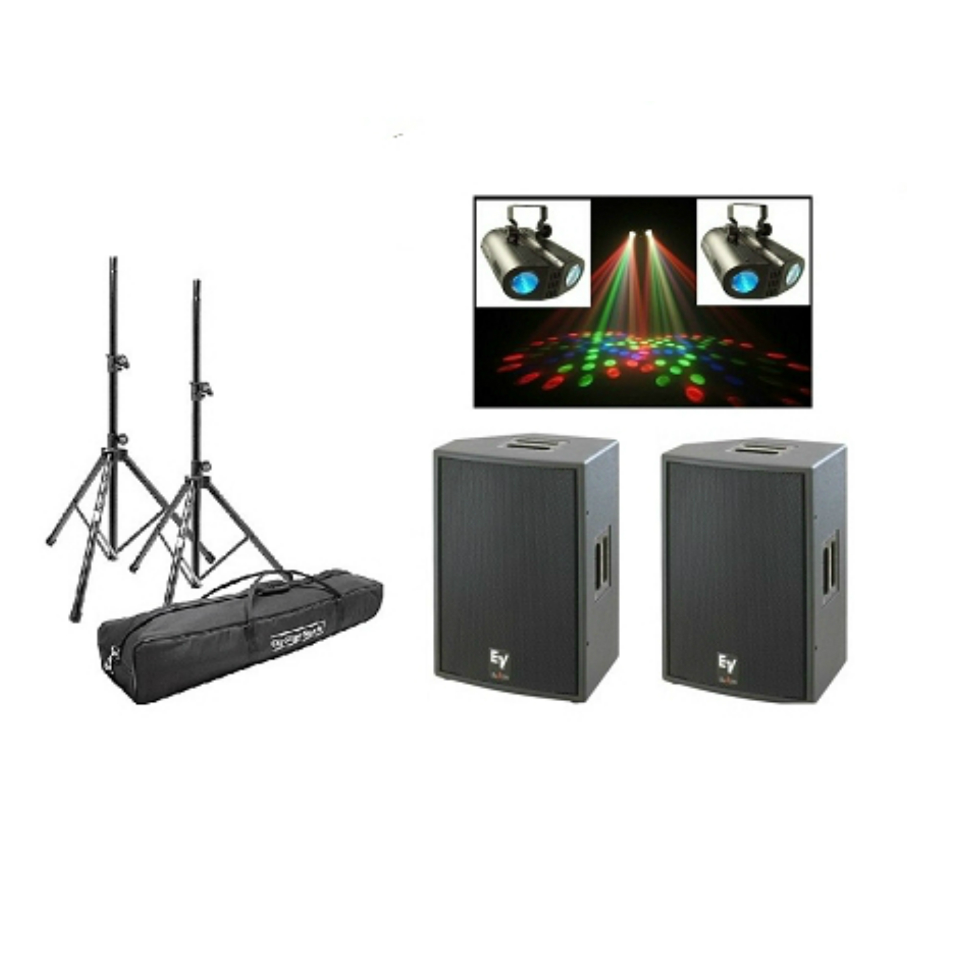 speaker and lighting rental package in miami sound company miami av service in miami dj. Black Bedroom Furniture Sets. Home Design Ideas