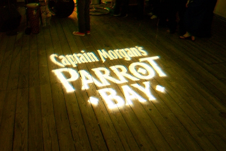 Example of Custom Made Gobo Pattern